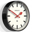 Newgate The Luggage Wall Clock - Black - 30cm station clock