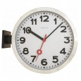 Nextime Station Double-Sided Clock – modern hanging station clock