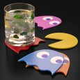 Pac-Man Coasters (Set of 5) - Red Candy