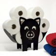 Peanut the Pig Toilet Roll Stand - Red Candy