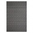 Maisey Rug - Black - patterned geometric rug