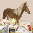 Pony Wall Sticker - Red Candy