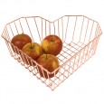 Heart Fruit Bowl (Copper Wire) - Red Candy