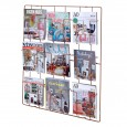 Frame-9 Magazine Rack (Copper) - Red Candy