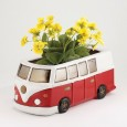 Red Campervan Planter - Red Candy