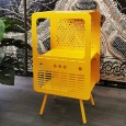 Retro TV Storage Cabinet (Yellow) - Red Candy