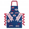 Rock Cake Apron - Red Candy