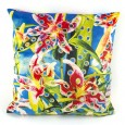 Seletti Toiletpaper Flowers with Holes Cushion (Cover Only) - Red Candy