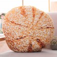 Sesame Boule Cushion - Red Candy