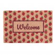 Strawberry Fields Doormat - Red Candy