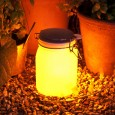 Suck UK Sun Jar in Yellow - designer solar garden light