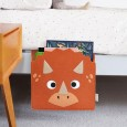 Troy the Triceratops Bed Pocket - Red Candy