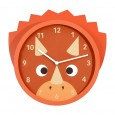 Troy the Triceratops Wall Clock - Red Candy