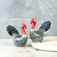 Turkey Salt & Pepper Shakers - Red Candy