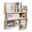 Umbra Edge Multi Photo Display (Natural) - Red Candy