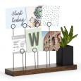 Umbra Gala Photo Display - walnut desk photo stand