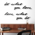 Umbra Mantra Wall Decor - Red Candy