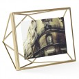 Umbra Prisma Photo Frame 4x6 - stylish brass photo display