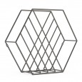 Umbra Zina Magazine Holder - geometric wire magazine rack