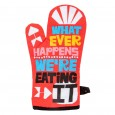 Whatever Happens Oven Glove - Red Candy
