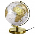 Wild Wood Globe Light (Arctic White & Brass) - Red Candy