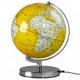 Globe Light - English Mustard - Yellow Globe Lamp - Wild Wood