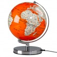Globe Light - Goldfish Orange - Designer Globe Lamp - Wild Wood