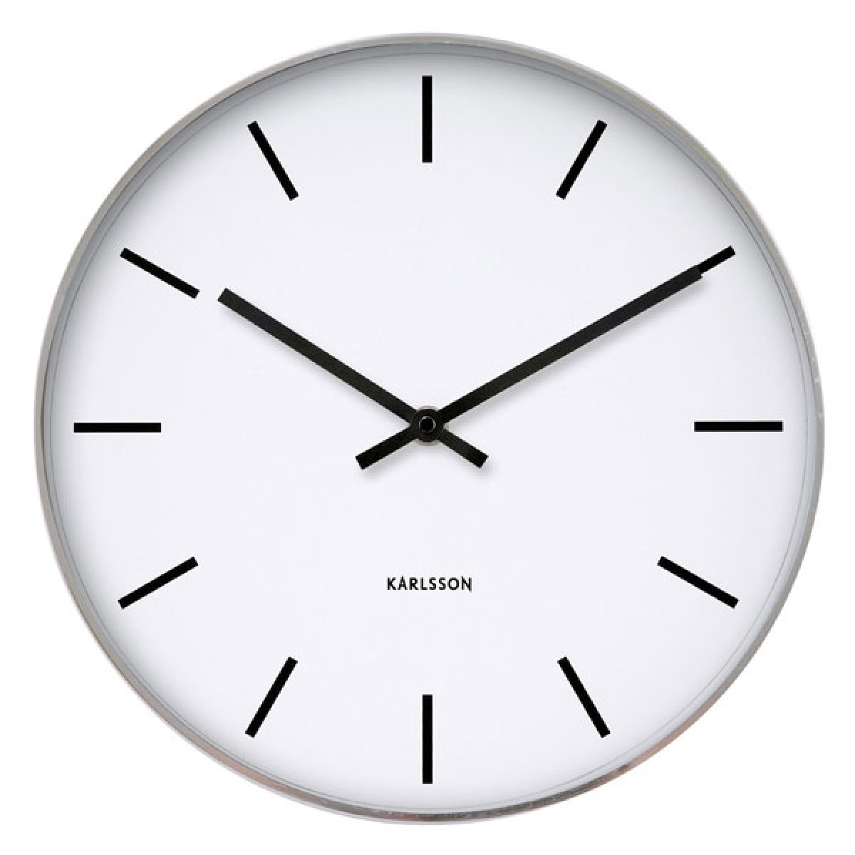 Newgate putney clock gloss red retro wall clock karlsson station classic wall amipublicfo Gallery