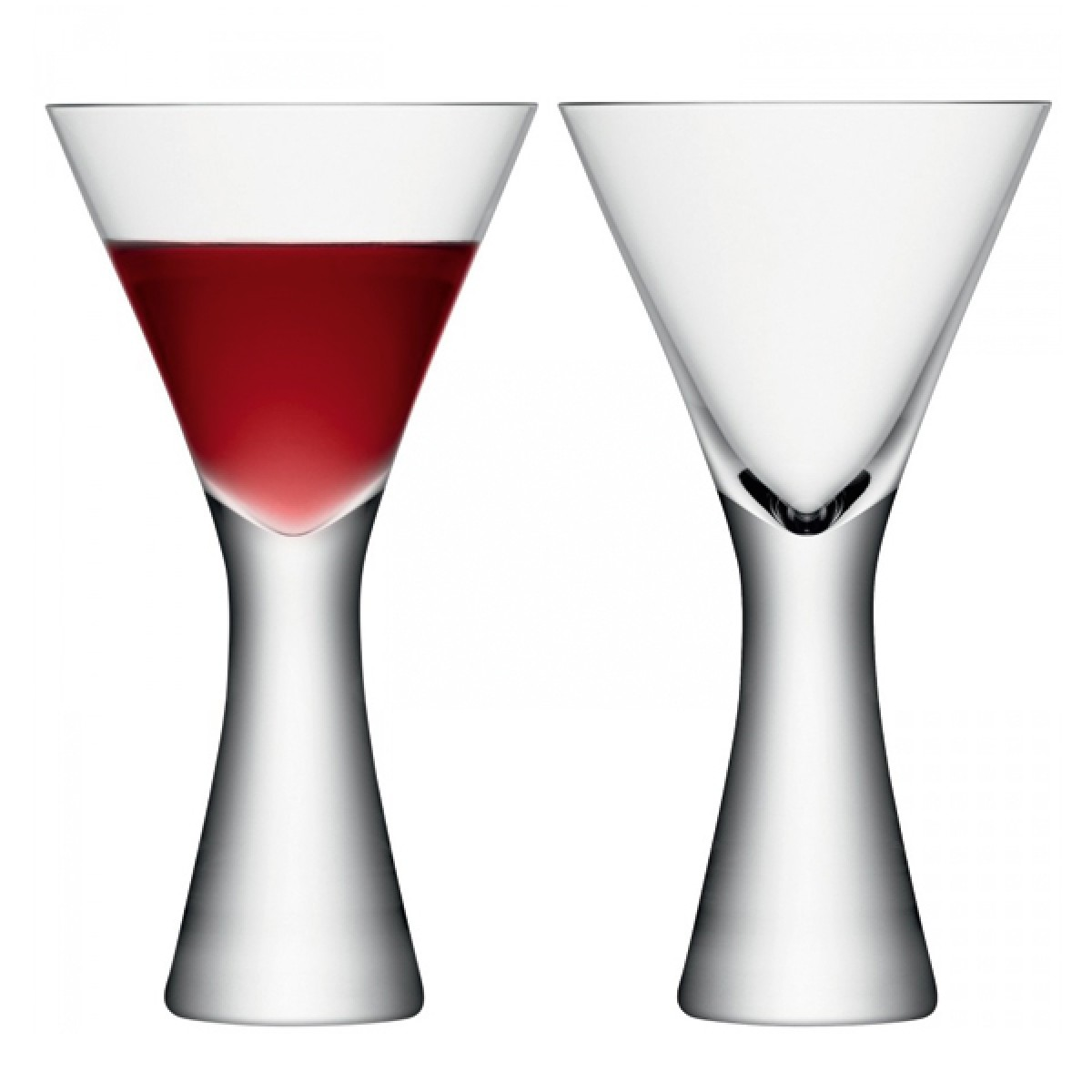 lsa moya champagne flutes  set of   modern champagne glasses - lsa moya wine glasses  set of   modern designer wine glasses