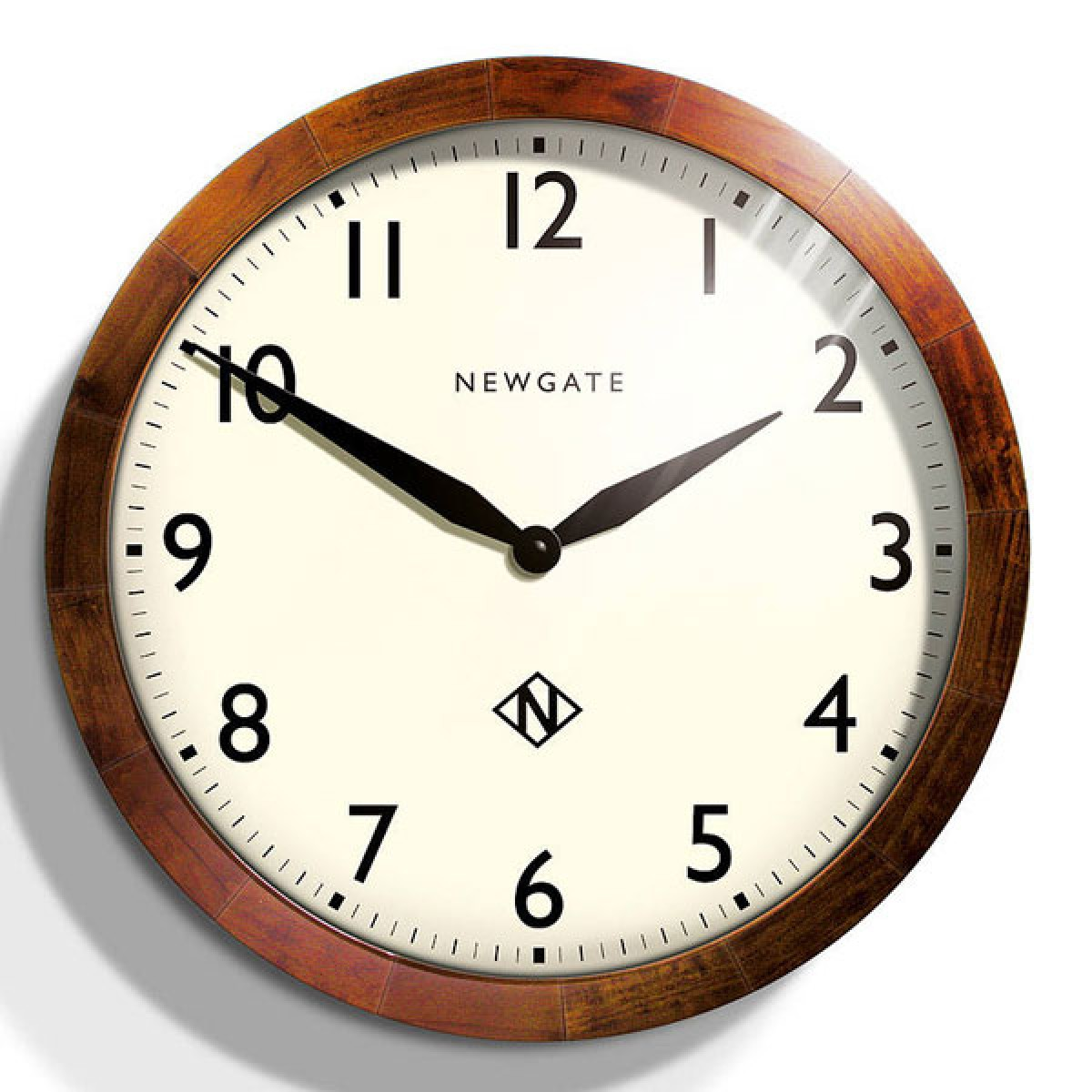 large modern  designer wall clocks  red candy - newgate wimbledon clock  large arabic wooden wall clock