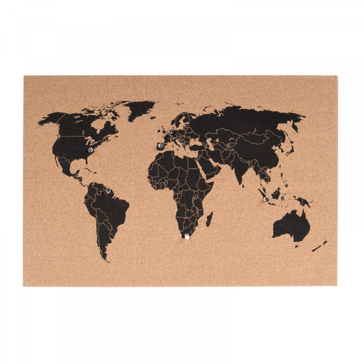 Corkboard world map red candy gumiabroncs Gallery