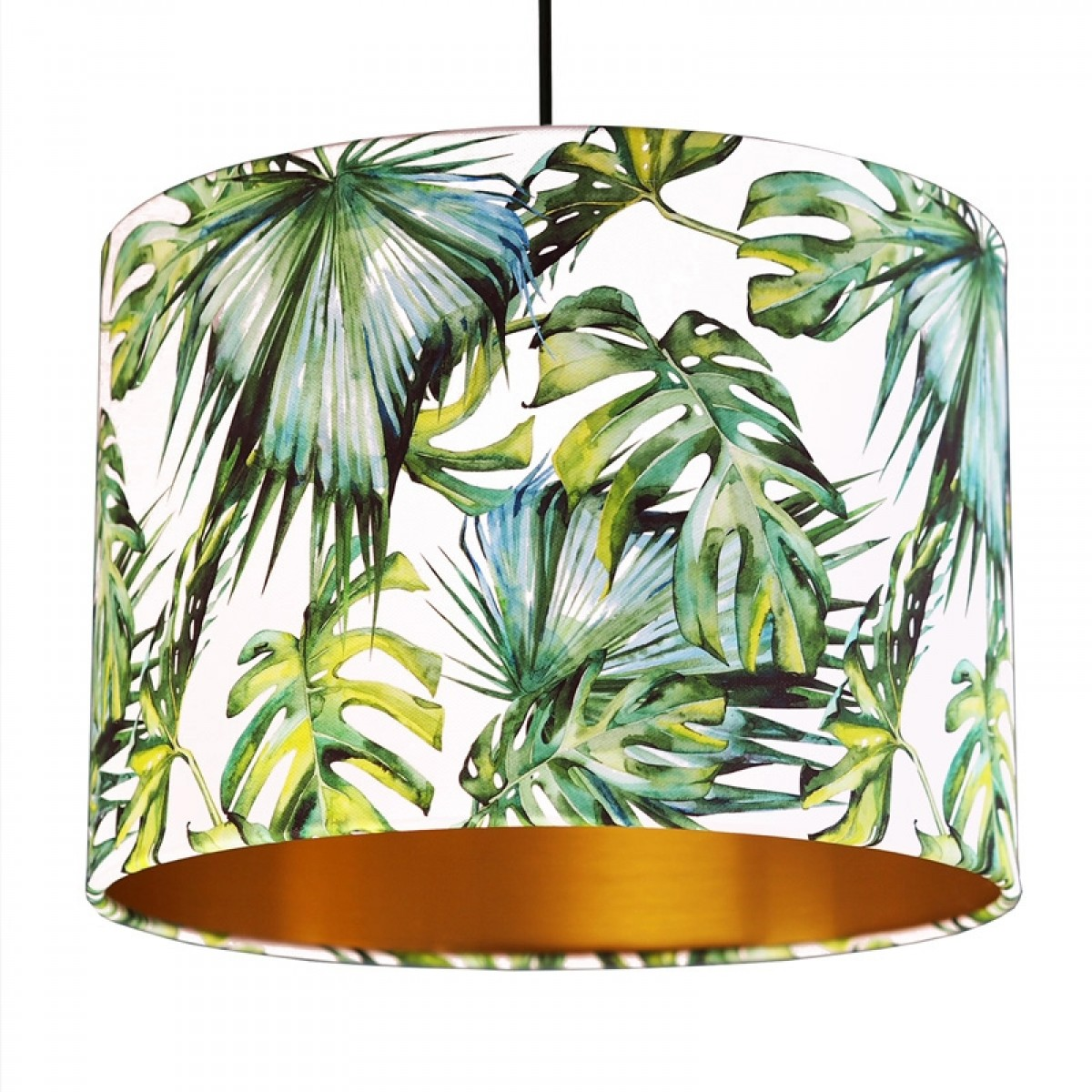 tropical home decor uk tropical lampshade  white   gold  red candy  tropical lampshade  white   gold  red
