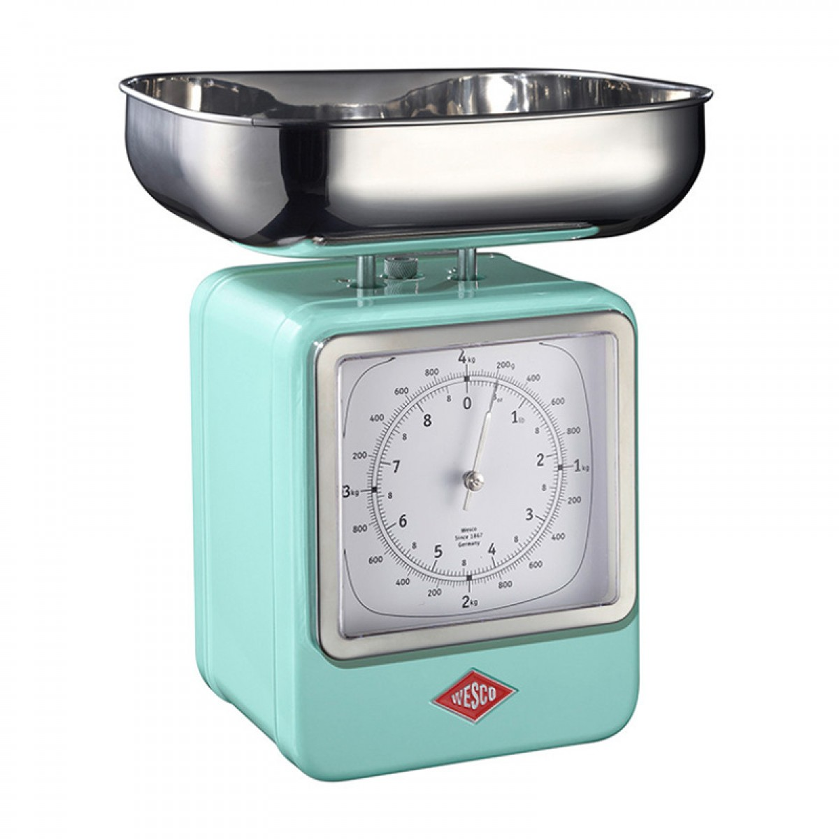 Wesco Retro Scales with Clock (Mint) - Red Candy