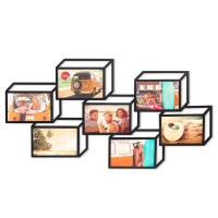 3D Photo Frame (7 Apertures) - Red Candy