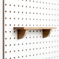 Block PegBoard Accessories (Shelf) - Red Candy