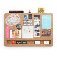 CorkFrame Memo Board (Landscape) - Red Candy