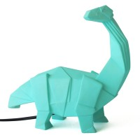 Diplodocus Green Dino Lamp - Dinosaur Light - Disaster Designs