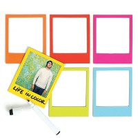 Pola Magnetic Photo Frames - Red Candy