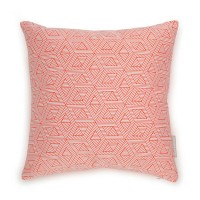 Evermade Geometric Cushion - Red Candy