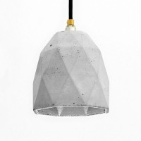 T1 Triangle Pendant Light – Grey & Silver