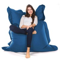 Oxford Bean Bag (Royal Blue 3 Sizes) - Red Candy