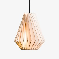 IUMI Hektor Pendant Light – natural birch plywood hanging lamp