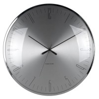 Karlsson Dragonfly Wall Clock - Aluminium - designer wall clock