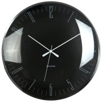 Karlsson Dragonfly Wall Clock - Black - designer black wall clock