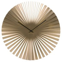 Karlsson Sensu Clock Large (Gold) - Red Candy