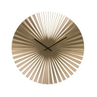 Karlsson Sensu Clock Medium (Gold) - Red Candy