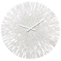 Koziol Silk Wall Clock - White - unusual white wall clock