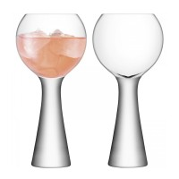 LSA Moya Wine Balloon Glasses (Set of 2) - Red Candy