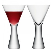 LSA Moya Wine Glasses - Set of 2 - modern designer wine glasses