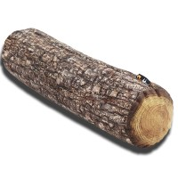 Merowings Forest Log Large Pillow  - Red Candy